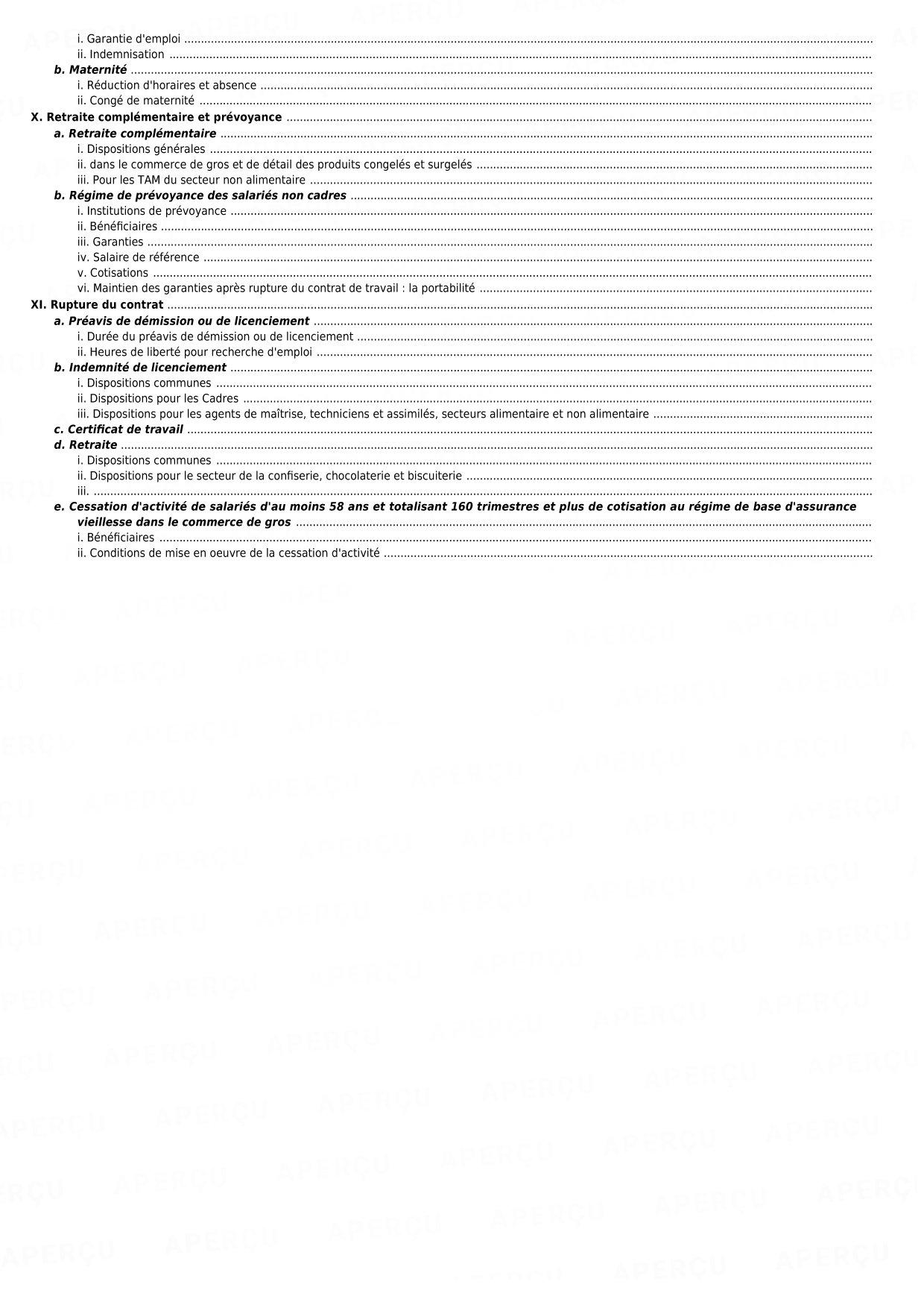 Duree Du Travail Convention Collective 573 Commerces De